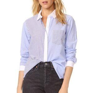 Rails Emory Mixed Stripe Button Down Shirt